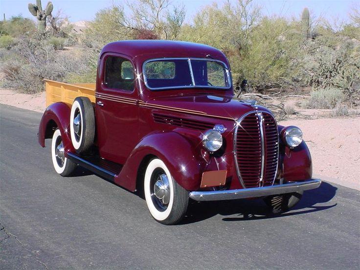 1938 FORD CUSTOM PICKUP - Barrett-Jackson Auction Company - World's Greatest Collector Car Auctions