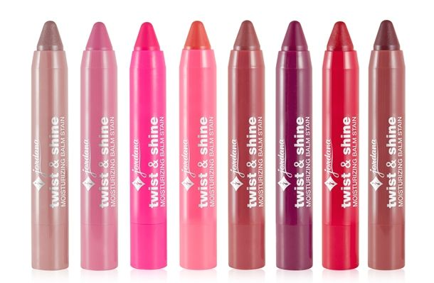 Jordana lip balm stains dupe for Revlons lip balm stains.