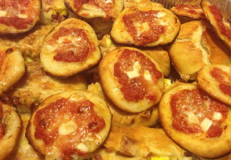 Pizzettine sfiziose #pizza #realitalianpizza #snack #italiansnack
