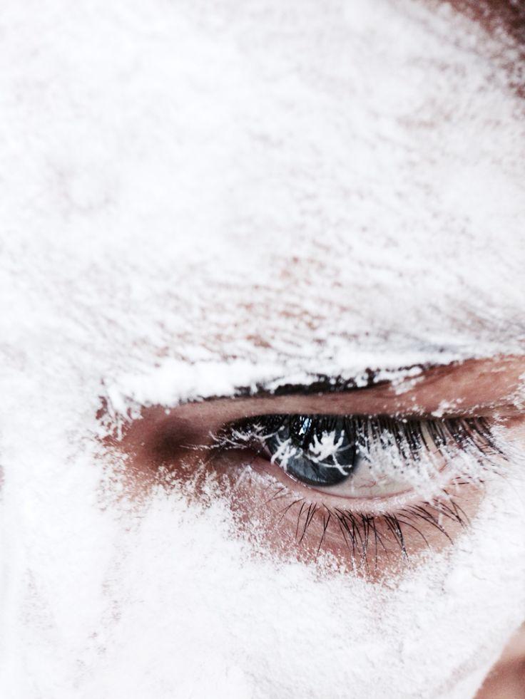 #blue #eyes #peace #white #summer