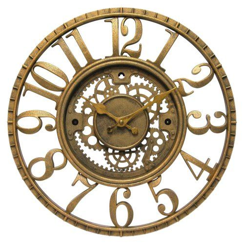 "14"" Infinity Instruments Gear - Open Dial Resin Clock Infinity Instruments http://www.amazon.com/dp/B0010ED50C/ref=cm_sw_r_pi_dp_QN4Qtb19Y5VX06X3"