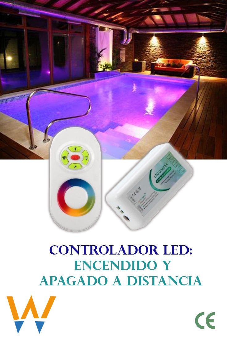 Controlador Led Rgb Con Control Remoto Led Control Remoto Focos