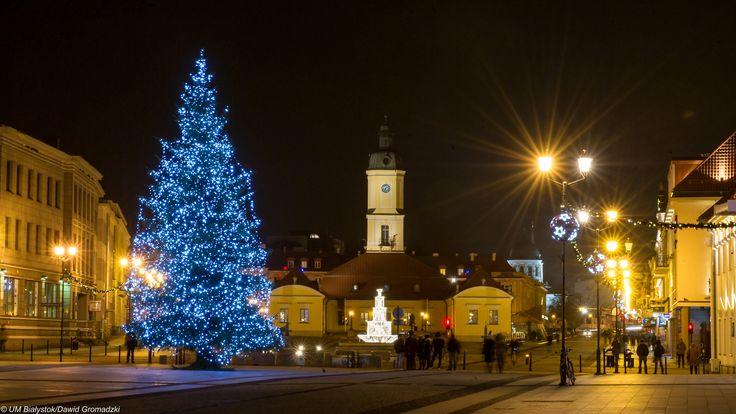 Świąteczny Rynek Kościuszki :) #Bialystok #Święta fot. Dawid Gromadzki