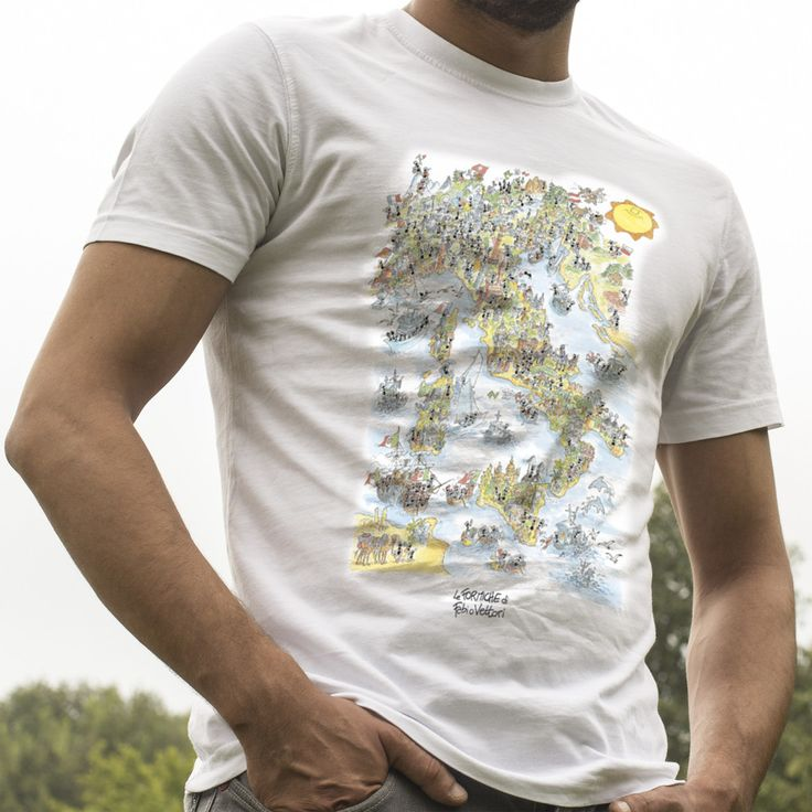 "T-shirt ""Italia"" #Italia #Italy #ilbelpaese"