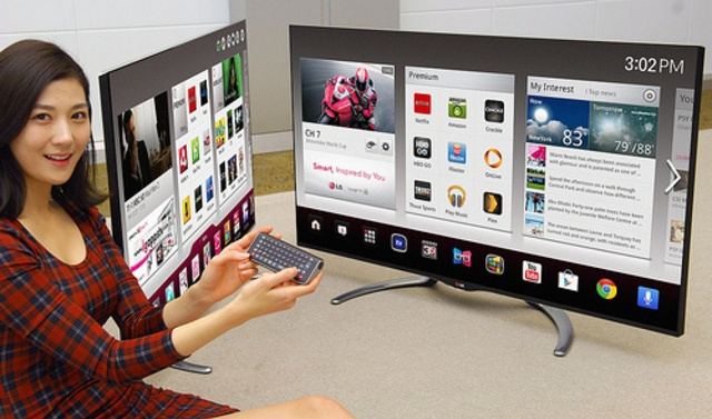 LG's 2013 Google TVs feature OnLive gaming and Magic