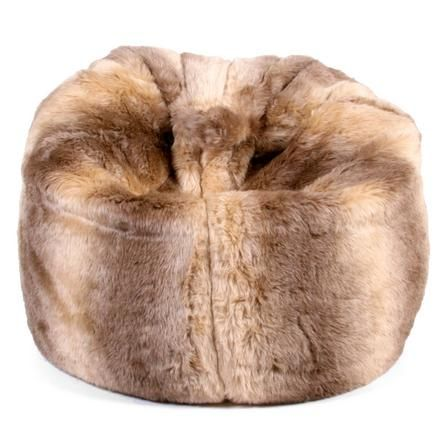 Pure Luxury Faux Fur Bean Bag Dunelm Moving Together