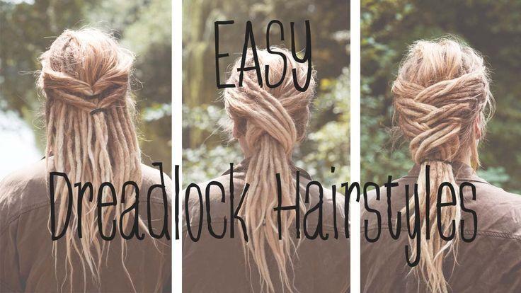 Dreadfrisuren Easy Dreadlock Hairstyles Lina Larsen Dreadfrisuren Dreadloc In 2020 Dreadlock Frisuren Mittellange Haare Frisuren Einfach Dreadlocks Frauen