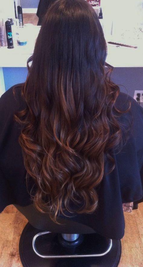 best 25 caramel ombre hair ideas on pinterest hair color for brunettes caramel ombre and. Black Bedroom Furniture Sets. Home Design Ideas