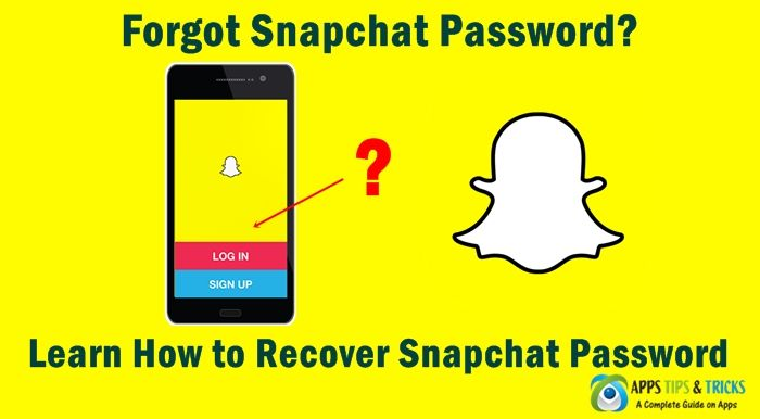 Forgot Snapchat Password? See How to Recover Snapchat Password