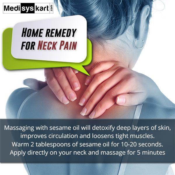 #Medisys #FitTips :- #Home #Remedy for #Neck #Pain