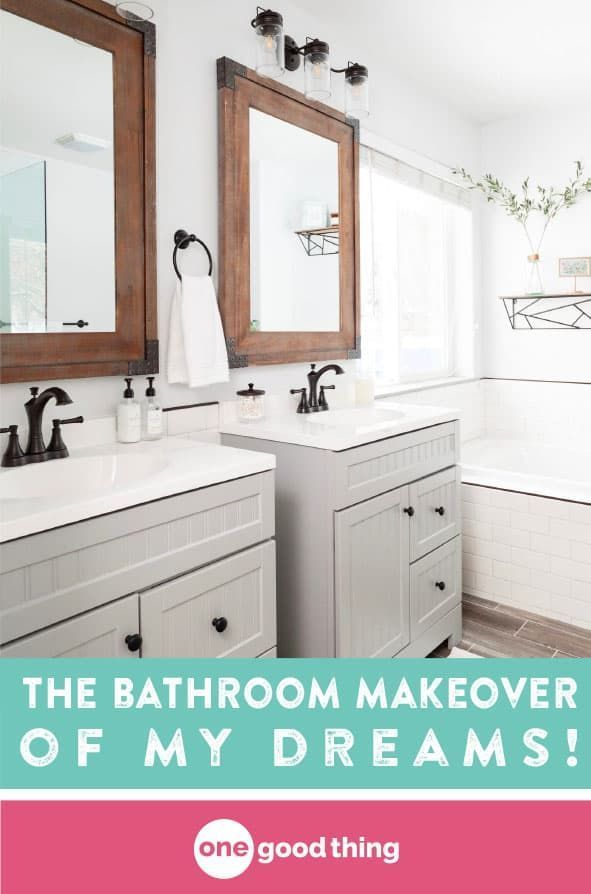 This Is How I Finally Got The Bathroom Makeover Of My Dreams Salle De Bain Douche Baignoire My bathroom over last years