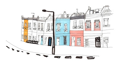 Designs by Jessica Hogarth featured on Rachel Taylor's Blog: Illustrations Building