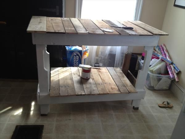 Kitchen Island Table Diy Pallet Kitchen Island Diy Pallet Kitchen Build Kitchen Island Urban Chic Decor