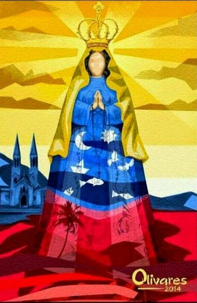 Oscar Olivares. Hermosa imagen de la Virgen del Valle