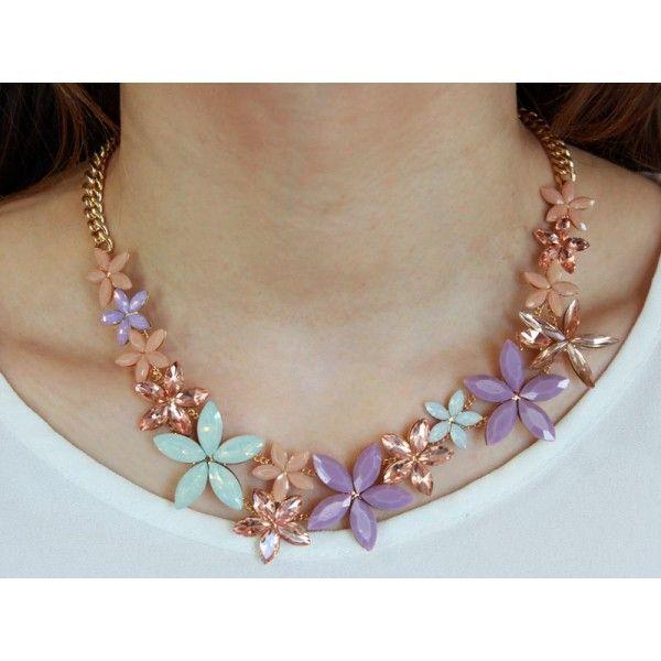 Collana fiori lilla Sodini Bijoux