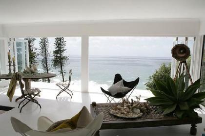 Living a  fortunate life  in an Australian beach house