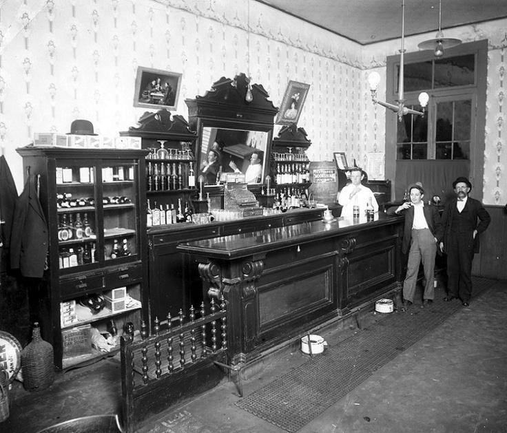 Saloon, Carson City, Nevada c.1900