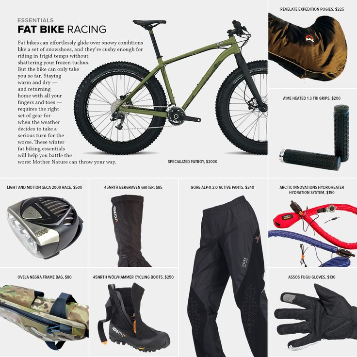 Fat Bike Gear Essentials - Gear Patrol