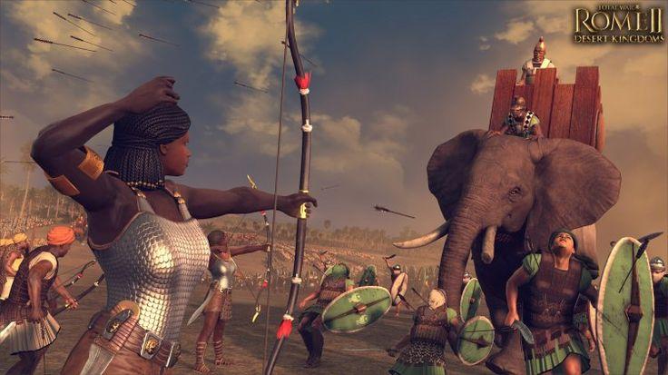 Kushite Archers (The Creative Assembly) Nubia.