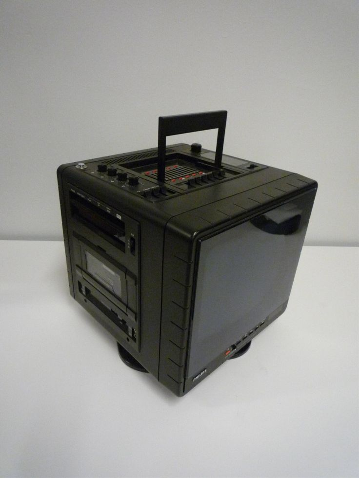televisietoestel - Philips Electronics N.V., 1985 | Collectie Boijmans