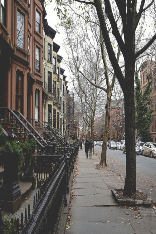 We love our beautiful neighbourhood www.swiftmorris.com  #Hoboken #InteriorDesign #Brownstone