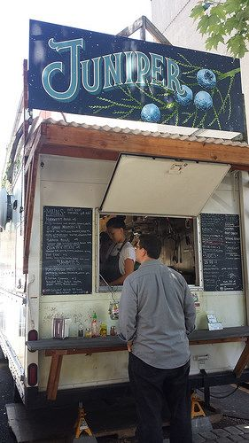 List and maps of food carts in portland