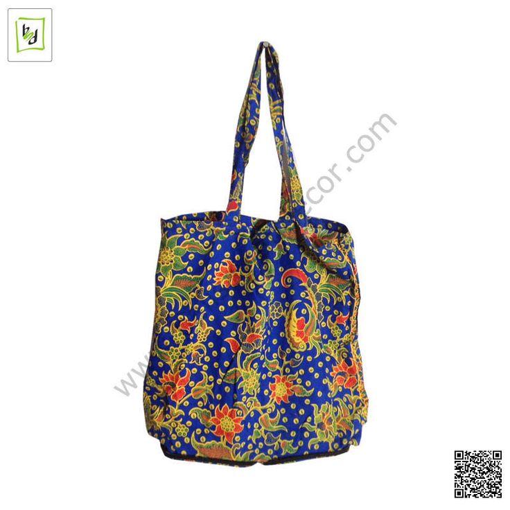mix blue batik bag by #balisawahdecor