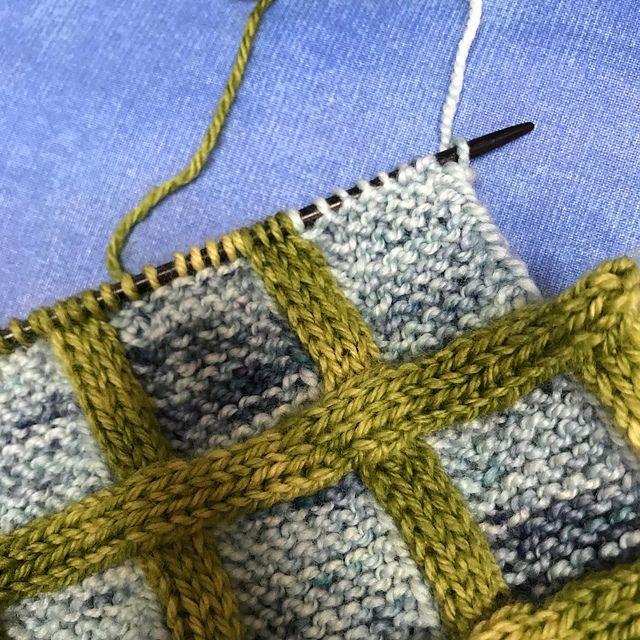 Scarf Checkered Autumn Autumn Checkered Scarf In 2020 Stricken Designs Strickstiche Strickmuster