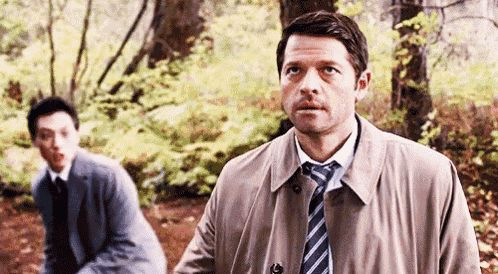 Supernatural Misha GIF - Supernatural Misha Annoyed GIFs