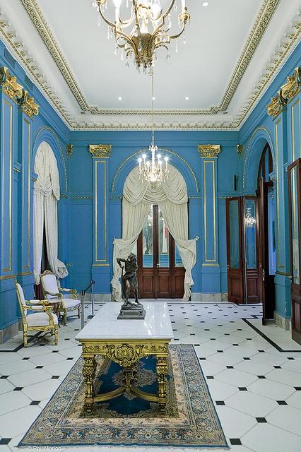 Salón azul - Casa de gobierno, Buenos Aires