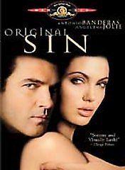 Original Sin  DVD Antonio Banderas, Angelina Jolie, Thomas Jane, Jack Thompson,