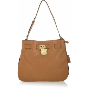 Michael Michael Kors Hamilton Large Shoulder Bag Brown $225.99   eBay www.darlingdiscounts.com