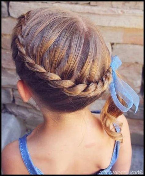 20 entzückende Kleinkind Mädchen Frisuren | Kinder Flechtfrisuren … |