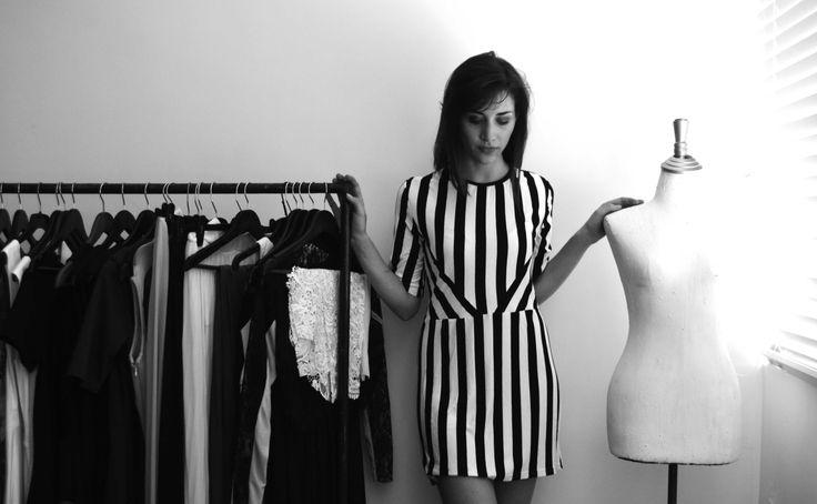 Carla wears the Ozzy Dress // www.marethcolleen.com