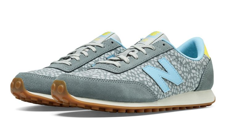 New Balance 410, Grey with Light Grey & Blithe