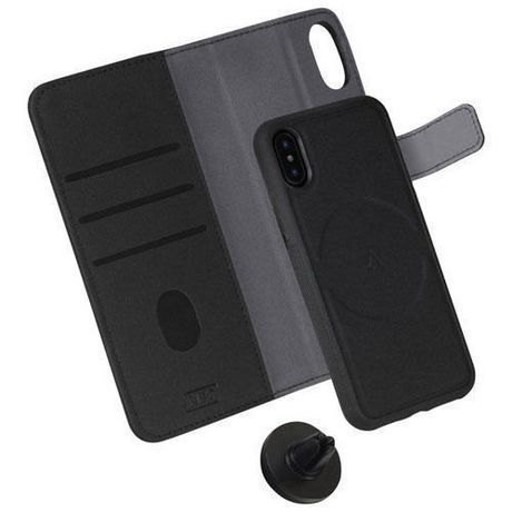 release date 46590 9ed96 Lbt Iphone Xs Max Switch Wallet Case With Magnet Vent Holder, Carbon ...