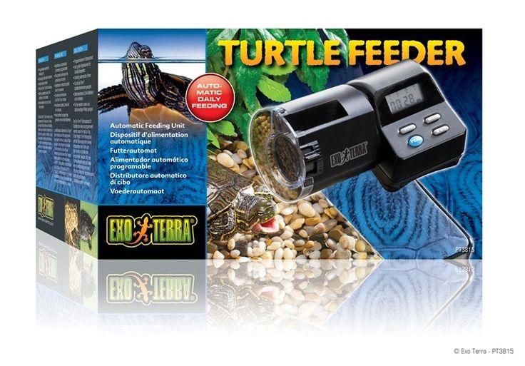 Alimentador Automatico EXOTERRA El alimentador Exo Terra Turtle Feeder puede programarse para alimentar hasta 4 veces al día.