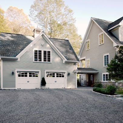 1000 images about 2 story garage on pinterest home for Garage attached to house