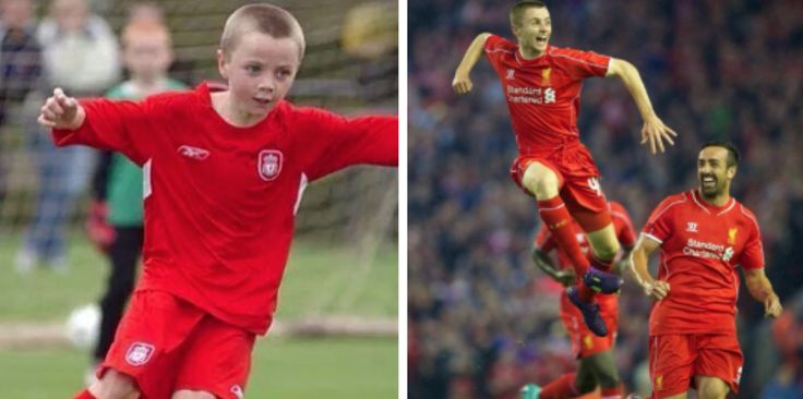 The Next Steven Gerrard - Jordan Rossiter came on to replace Lucas Leiva tonight. The young midfielder has been at Liverpool since he was six.