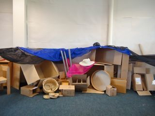 deconstructed role play area #abcdoes #eyfs #roleplay #deconstructedroleplay