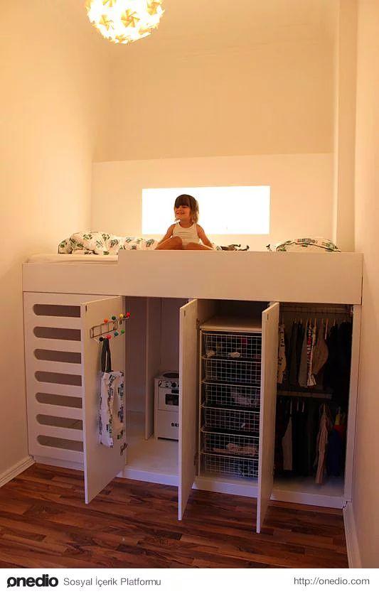 Her şey dahil çocuk odası, 2. çocuk olduğunda ufak bir iki değişiklikle yola devam etmen de mümkün.
