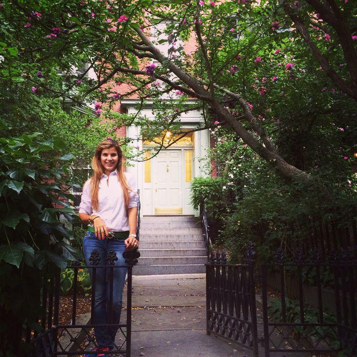 Jardines especiales.. Boston.