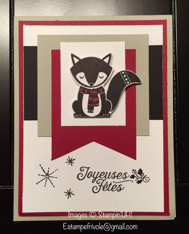 Hourras pour Noël, Cousu avec joie & Cozy Critters, Stampin'UP!