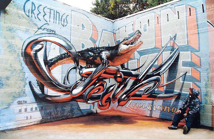Odeith: Street art anamorfica e illusioni ottiche 3D