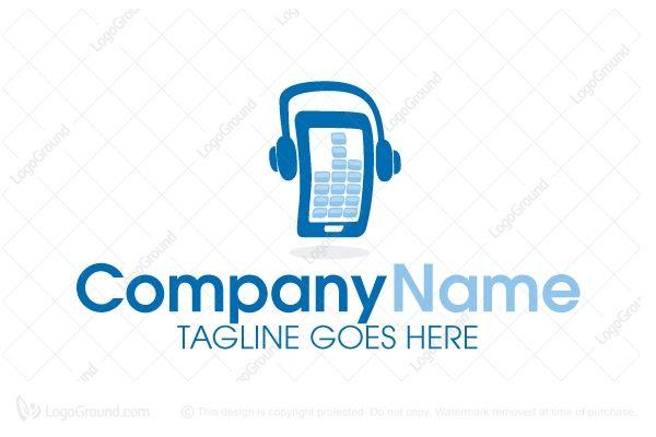 Logo for sale: Dj Mobile Logo