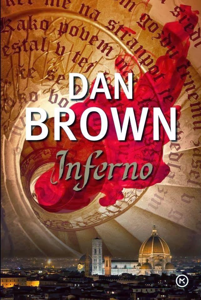 Dan Brown: Inferno | slovenian cover | #book #DanBrown #cover