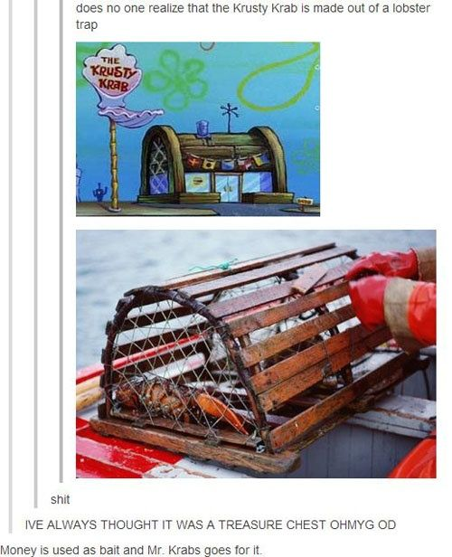 Vaya, resulta que el crustaceo crujiente es una trampa para bogavantes