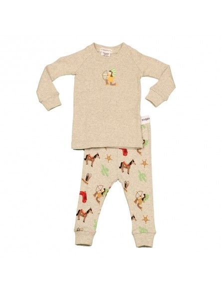 Snugglebum Indian Longjohn PJ'S Sleepwear Boys Rollercoasterkids