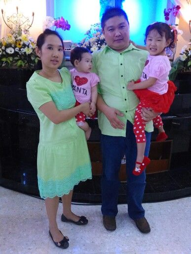 My lil family @ xmas'14