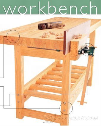 Cabinet Makers Workbench Plans - Workshop Solutions Projects, Tips and Tricks | WoodArchivist.com